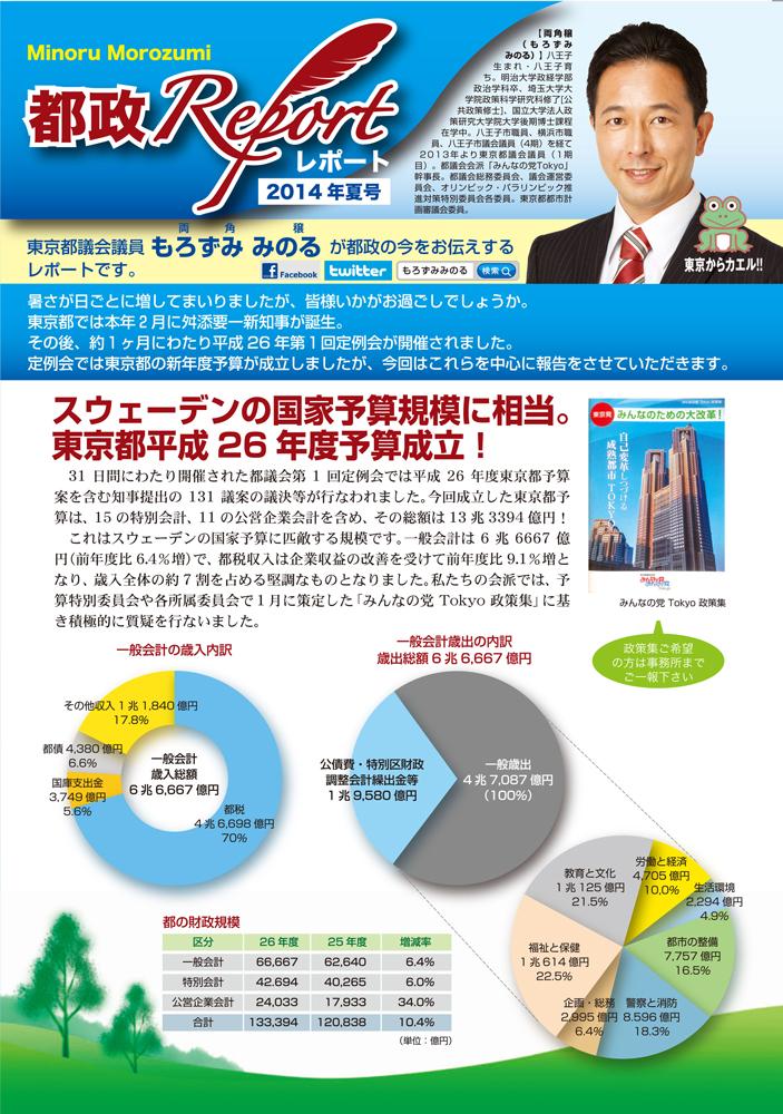 都政REPORT2014夏号